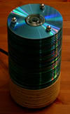 CD lamp off